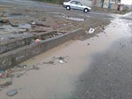 بارش باران و تگرگ در شهرستان سراوان