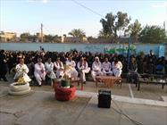 جشن پایان دوره تحصیلی پایه نهم  به مناسبت هفته معلم در سراوان