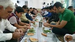 برگزاری ضیافت افطاری در مساجد شهرستان سراوان