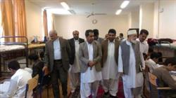 گزارش تصویری/بازدید مسئولین از اعتکاف نوروزی در سراوان