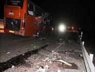 30 کشته و مجروح در واژگونی یک دستگاه اتوبوس در محور سبزوار-شاهرود