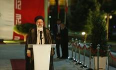 حجت الاسلام رئیسی از رادیو ایران با مردم سخن گفت.